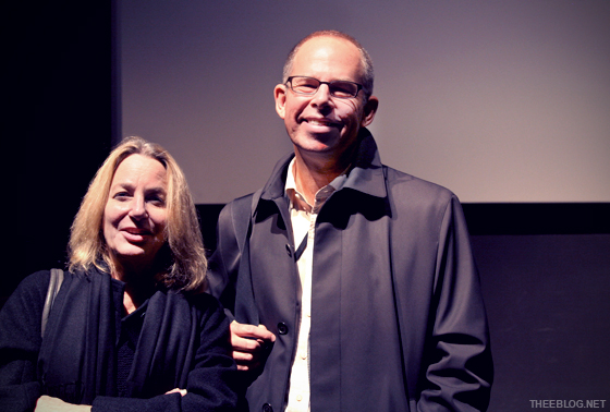 Legends and personal heroes. Paula Scher & Michael Bierut.