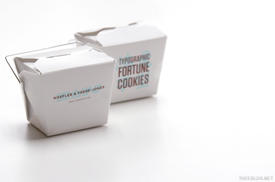 Hoefler & Frere-Jones Typography Fortune Cookies!