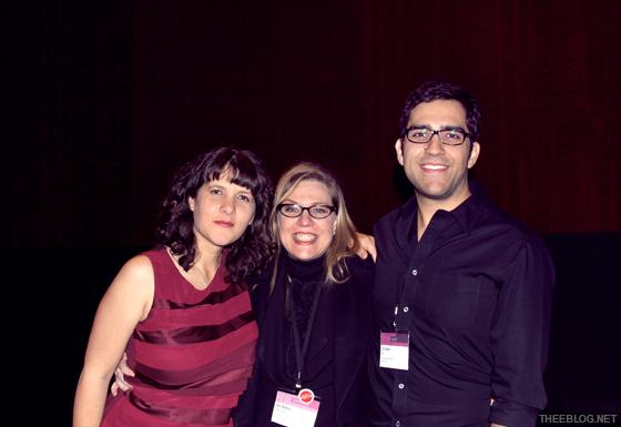 Bryony Gomez-Palacio, Debbie Millman & Armin Vit.