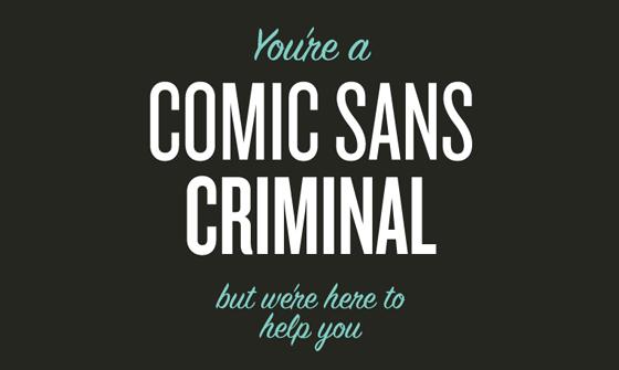 TheeBlog-ComicSansCriminal