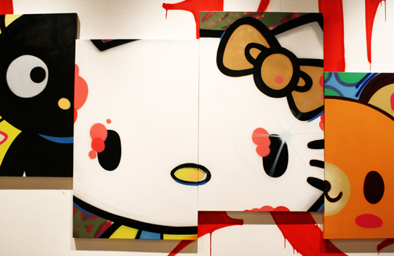 hello kitty art basel. Sanrio 50th Anniversary – Art Basel 2010