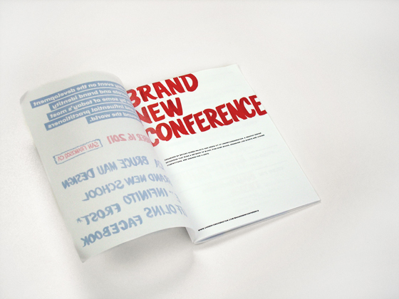 Brand New Conference 2011 - Program
