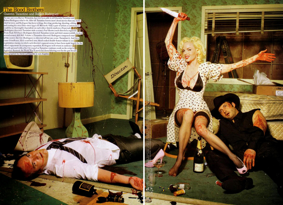 Maria's LaChapelle + GQ photo :)