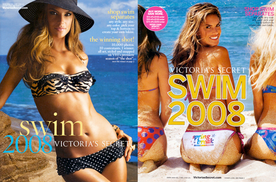 Maria's winning Victoria's Secret catalogue covers
