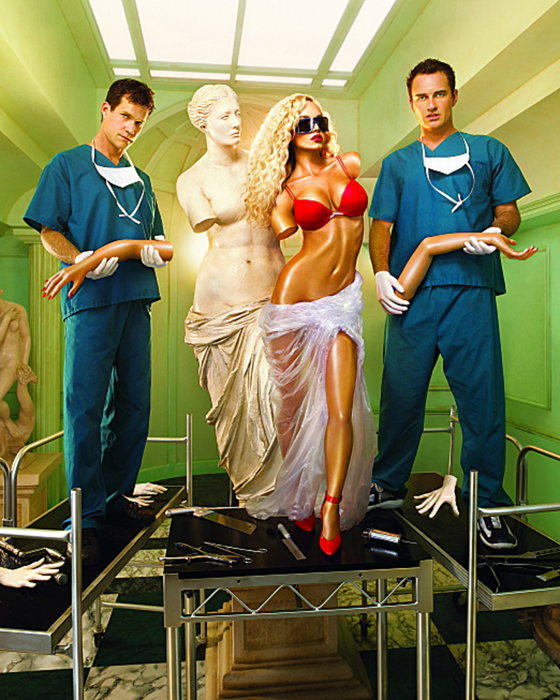 David LaChapelle - Nip Tuck Campaign