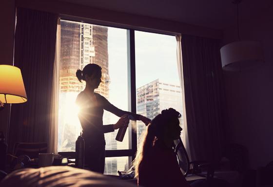 Hairspray + Sun