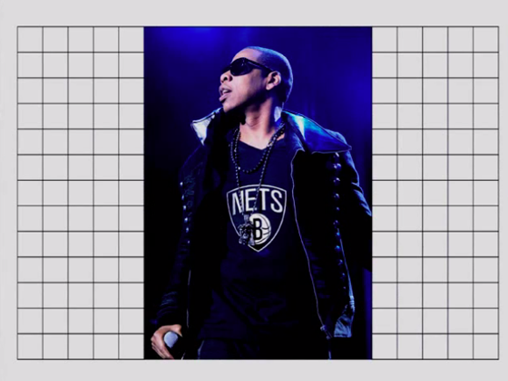 Jay Z designs the Brooklyn Nets logo... Not.