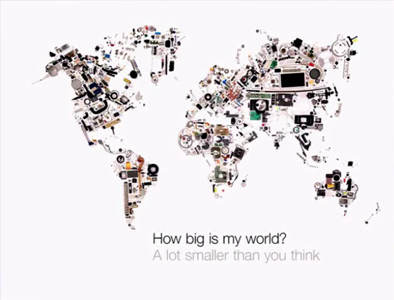 How big is my world?
