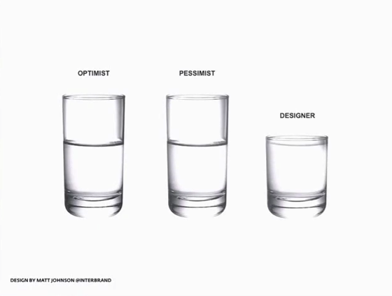 Optimists, Pessimists and Designers