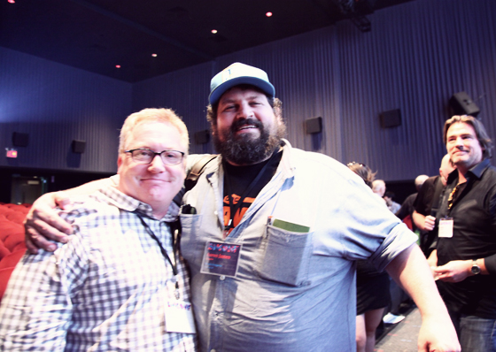The people's champ! Aaron James Draplin.
