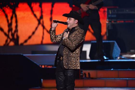 Gerardo Ortiz - Latin Grammy Awards - Univision Photos