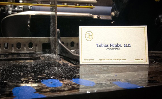 Tobias fnke business cards thee blog tobias fnke business cards colourmoves