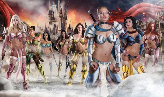 TheeBlog-MikeRoshuk_DisneyPrincesses