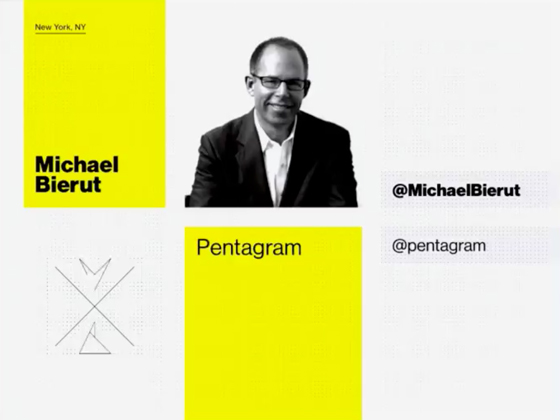 Michael Bierut closing the conference