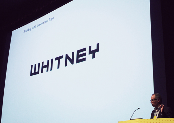 One of the proposed identities for The Whitney Museum