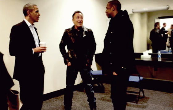 Obama, Springsteen and Jay Z. What are they talking about?? - Josh Higgins