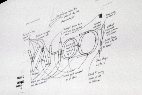 Bruno's opening slide and a couple of minor notes on the new Yahoo logo