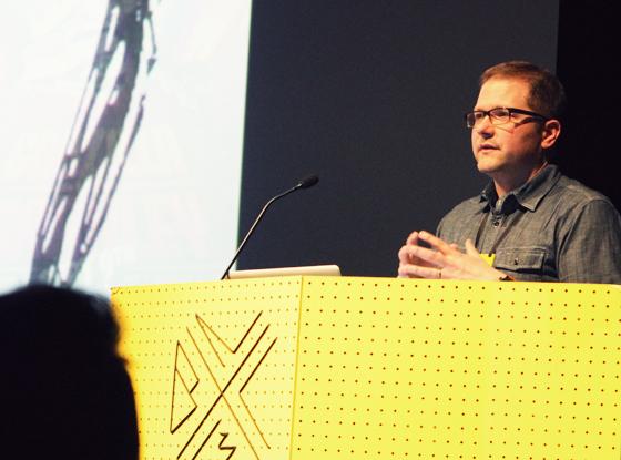 Matt preaching