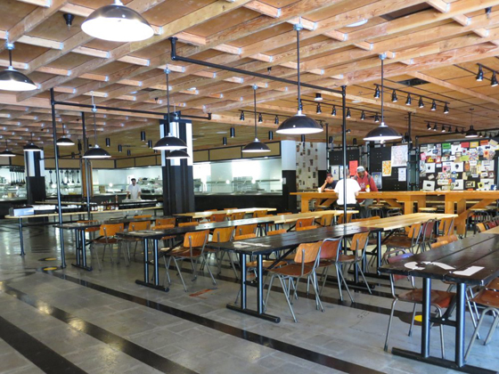 Campus restaurants