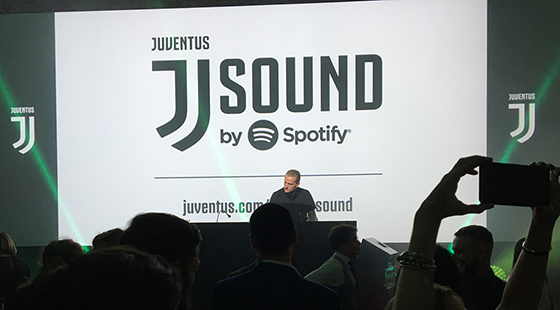 And because nothing says JUVENTUS like a 40 year old DJ spinning JUVE tunes...