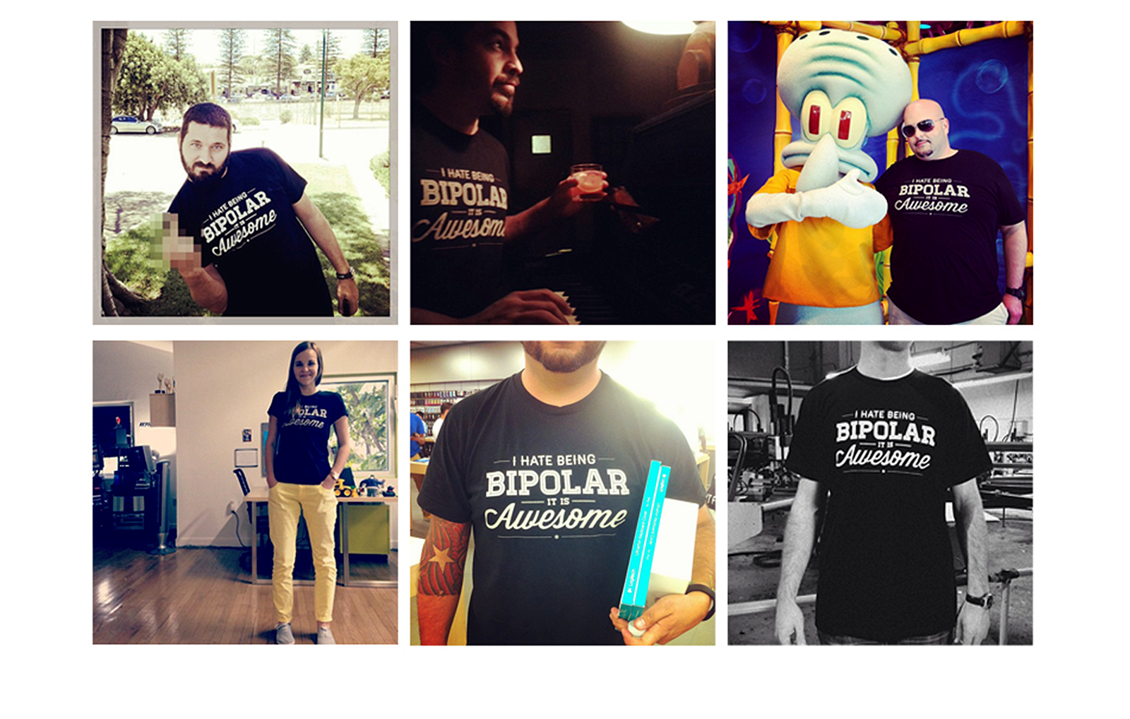 Diego Guevara - Bipolar Tee Around the World
